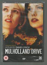 MULHOLLAND DRIVE - David Lynch - UK REGION 2 DVD - sealed/new