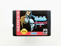 The Punisher in Streets of Rage 2 SEGA Genesis - SofR Fan Made (USA Seller)