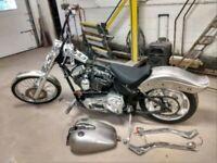 Harley Softail Project Bike