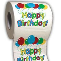 Happy Birthday - Party Toilet Paper Roll - great for parties funny gag gift