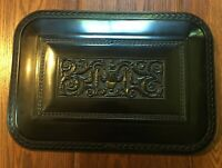 Vintage Marshall White Chocolate Bakelite Silverware Flatware Cameo Chest