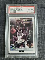 1992 Shaquille O'Neal rarest autographed ROOKIE!  Classic Basketball PSA READ!