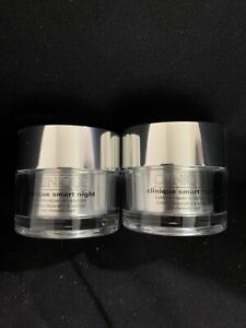 NEW 2 PK - Clinique Smart Night Custom-Repair Moisturizer (1 oz ea) *SHIPS FREE*
