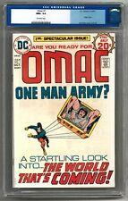 OMAC #1 CGC 9.6 (OW) Omac Origin
