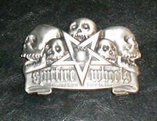 SPITFIRE WHEELS Early 2000's Metal Belt Buckle NOS