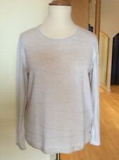Olsen Sweater Size 18 BNWT Beige With Textured Pattern RRP £69 Now £30
