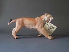 Lioness animal figure by Safari ltd, Vanishing wild, RETIRED