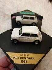 Mini Cooper MKI rojo con techo blanco 1990 1//43 vitesse modelo coche con o sin