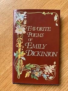"""""""FAVORITE POEMS OF EMILY DICKINSON"""" HARDCOVER BOOK"""