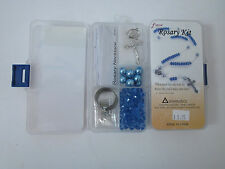 Fiona Crystal & Pearl Beads DIY Rosary Kit Blue