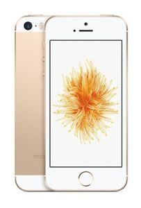 NEW GOLD VERIZON GSM/CDMA UNLOCKED 32GB APPLE IPHONE SE PHONE JU38 B