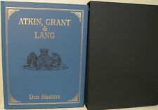Atkin, Grant & Lang by Masters, Ltd. Ed. 500 copies, signed, slipcased, New