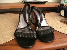 Ladies black wedge shoes - perfect condition! Size 5