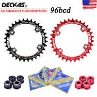DECKAS 96BCD-S Round/Oval 32/34/36/38t CNC MTB Bike Narrow Wide Single Chainring