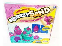 Squeezy Magic Sand Creative Bakery Cupcake Cookie & Doughnut Moulds Kids Craft