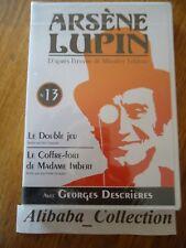 // NEUF DVD ** ARSENE LUPIN N° 13 ** GEORGES DESCRIERES SERIE TELE TV