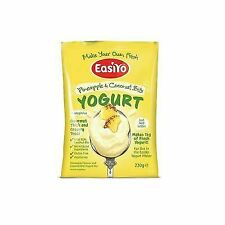 EasiYo Pineapple & Coconut With Bits Premium Yoghurt Mix 230g