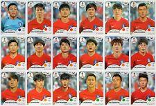 Sticker PANINI WORLD CUP RUSSIA 2018 - KOREA REPUBLIC - Choose Sticker