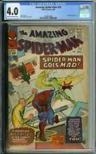 AMAZING SPIDER-MAN #24 CGC 4.0 CR/OW PAGES // MYSTERIO APPEARANCE 1965