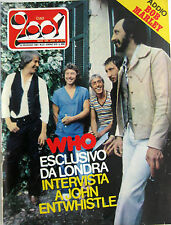 CIAO 2001 21 1981 Who Bob Marley Leon Russell Ron Queen Jango Edwards Thorogood
