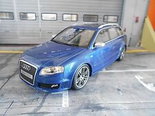 AUDI A4 RS4 B7 Avant Quattro blau blue B7 2005 V8 NEU Otto Resin NEU NEW 1:18