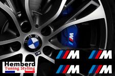 4x Stickers ///M BMW Motorsport Logo Performance AUTOCOLLANTS  étrier de frein