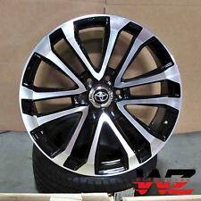 "20"" Platinum Style Black Machined Wheels Fits Toyota Tundra FJ Cruiser 6x139"