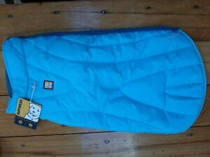 Ruffwear Dog Coat Powder Hound Insulated Cold Weather Large Blue Atoll New