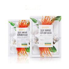 Petitfee Silk Amino Serum Mask 25g X 10 Sheet +Free Sample
