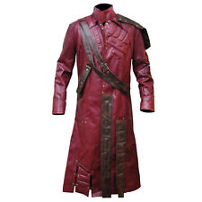 Guardians of the Galaxy Chris Pratt Star Lord Trench Leather Coat / Jacket