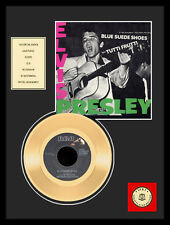 ELVIS PRESLEY - BLUE SUEDE SHOES GOLDENE SCHALLPLATTE