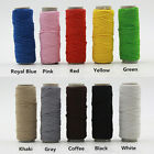 25 Meters Shock Cord Paracord Round Elastic Stretch Beading String 1mm Thread