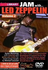 LICK LIBRARY Learn to Play JAM WITH LED ZEPPELIN Custard Pie GUITAR DVD Vol 2
