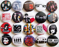 SIOUXSIE AND THE BANSHEES Button Badges Kiss in the Dreamhouse Punk Lot of 20