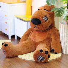 "60%OFF Giant 63"" Apologies Teddy Bear 160cm/5.3Feet --DARK BROWN--"