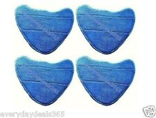 4 x VAX S86-CHM-2 S86-CCM-3 Complete Home Clean Master Velcro Steam Mop Pads