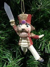 KURT S. ADLER RESIN NUTCRACKER SUITE BALLET NUTCRACKER CHRISTMAS ORNAMENT