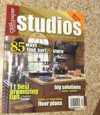 Cloth Paper Scissors STUDIOS Magazine Fall Winter 2008