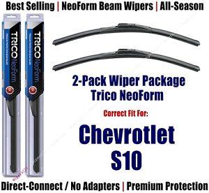 2pk Super-Premium NeoForm Wipers fit 1982-1993 Chevrolet S-Series S10 - 16160x2