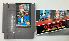 Super Mario Bros./Duck Hunt Nintendo NES Cartridge & Manual