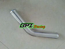 "63mm 2.5"" inch 45 Degree Aluminum Turbo Intercooler Pipe Piping Tubing hose"