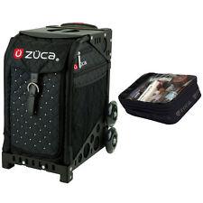 Zuca Mystic Sport Insert Bag & Black Non-Flashing Frame + Gift Utility Pouch