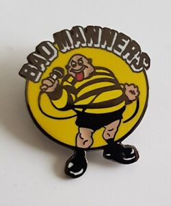 Bad Manners Skinhead Moonstomp SKA, Oi!,Mods, Badge Enamel Pin Badge