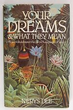 Your Dreams & What They Mean Nerys Dee (Hardback, 1984)
