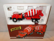 Manitou Mack Model R Cement Mixer 1998 NTTCS  By First Gear  1/34th Scale !