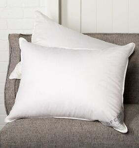 ITALY SFERRA DOVER EUROPEAN WHITE DUCK DOWN PILLOW WITH 600+ HIGH FILL POWER