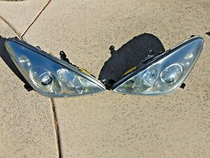 05-06 Lexus ES330 Xenon Headlight Assemblies w/ Restored Lenses LH & RH Nice OEM