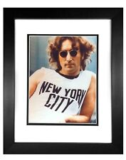 John Lennon  -  001  8x10 Photo Framed 11x14