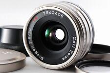 Contax Zeiss Biogon 28mm f/2.8 T* G Lens w/Filter,Hood,Cap [Mint] From Japan 259