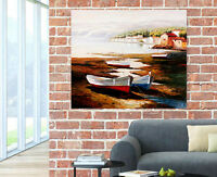 3D Floating Boat Wall Stickers Vinyl Murals Wall Print Decal Deco Art AJSTORE GB